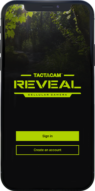 tactacam reveal cellular camera app get it at the apple store or google play
